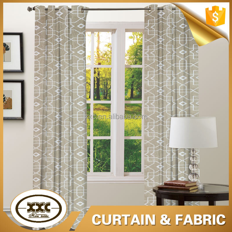 Top one factory OEKO 100 TEX new design polyester jacquard curtain