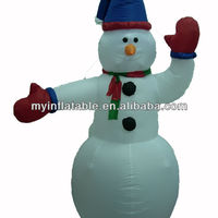 Inflatable Christmas Outdoor Lighted Snowman