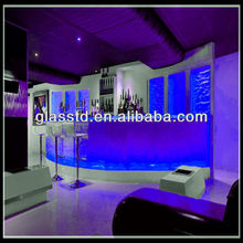 aqua fused bar counter top with LED
