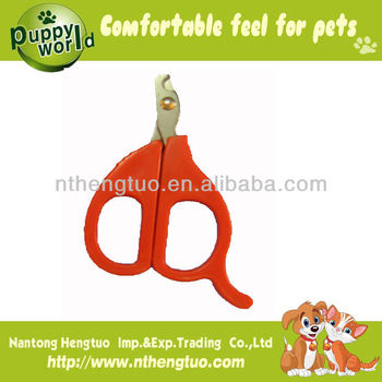 plastic safty dog nail clipper