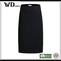Best selling hot chinese ruffled table leather skirt for women