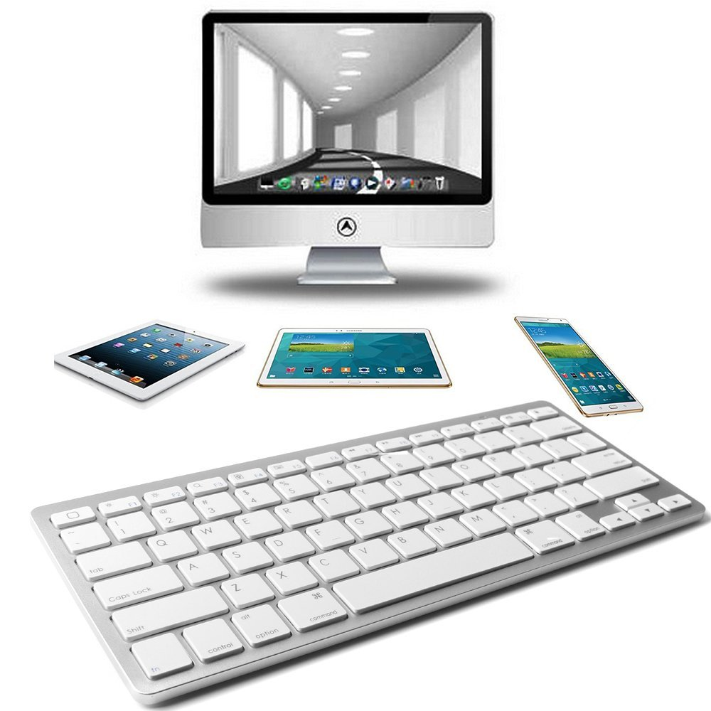 High Quality Mini Wireless Bluetooth 3.0 Keyboard for Apple iPad Mac Computer PC Macbook New