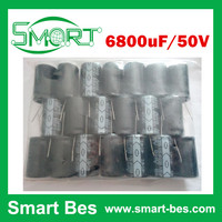 Free Shipping by Singapore Post 10pcs/lot 6800uF 50V 1.75A 25*45 Radial Electrolytic Capacitor