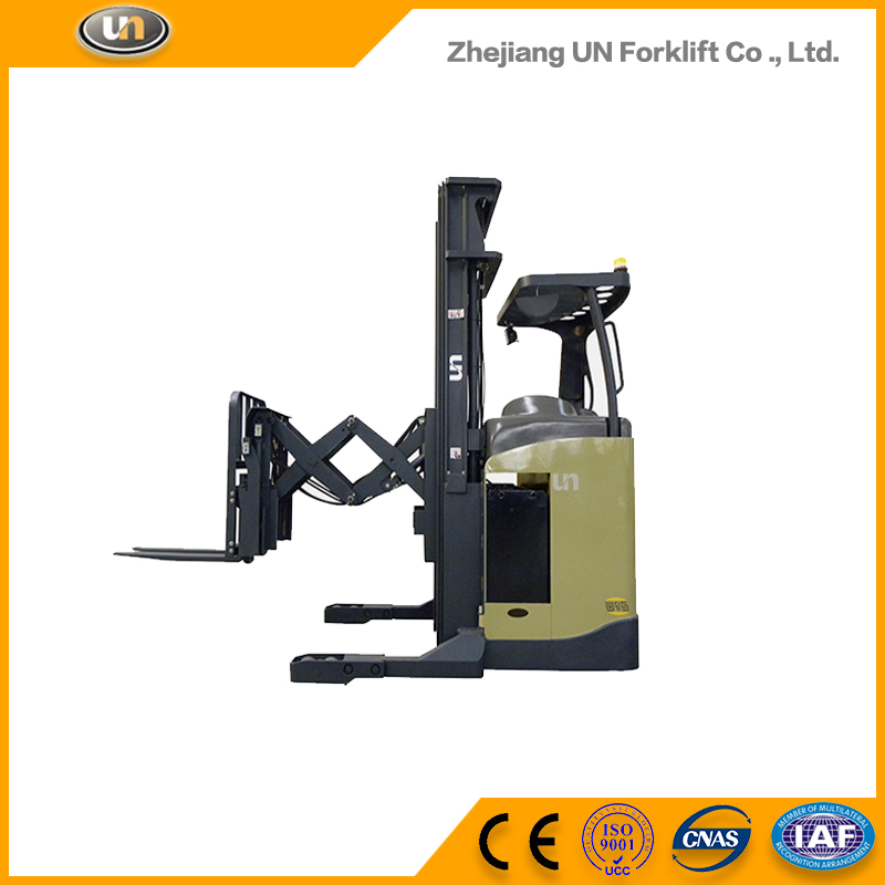 Factory Direct Sales All Kinds Of 1.5 Ton Mini AC Motor Electrically Operated Telescopic Double Mast Forklift Truck Price