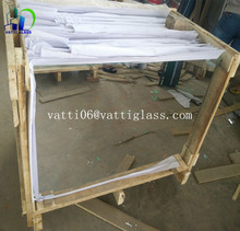 China factory mirror 1mm super thin glass mirror/1mm aluminum mirror glass/large sheet glass