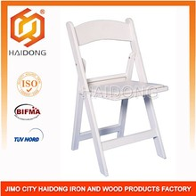 PP resin padded folding chair