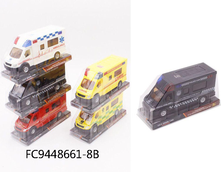 Wholesale plastic small friction power mini car toy FC9448661-8B