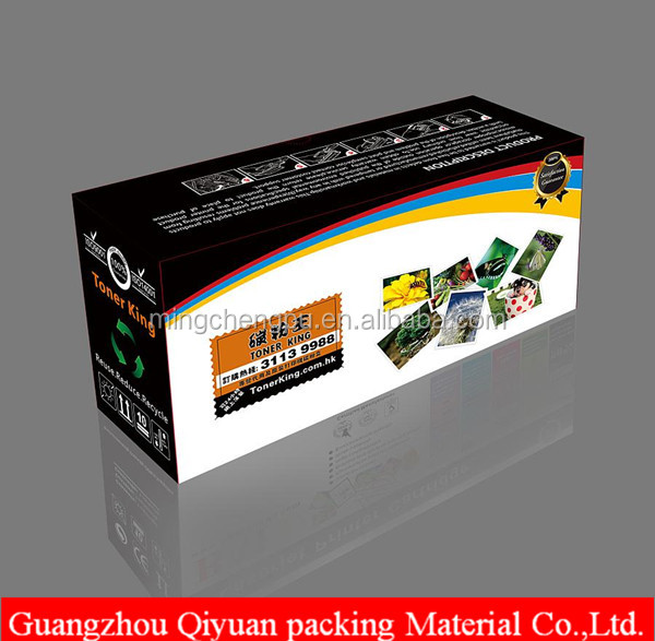 Custom printer PROMOTIONAL ECO-FRIENDLY TONER cartridge packaging box