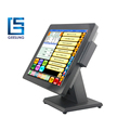 Geesung 15 Inch Ture Flat Panel Linux Pos Terminal With OEM Support