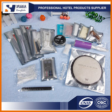 Hotel & Travelling use bath accessories travel set cheap hotel amenities