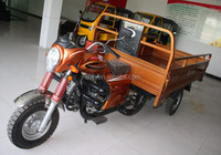 200cc water-cooled Hydraulic Three wheel cargo Motorcycle for cargo