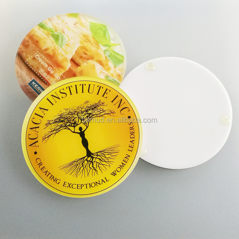 Manufacturer Acrylic Material clear plastic colored acrylic coaster