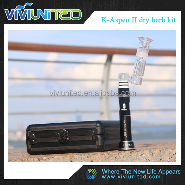 kanboro tech new items K-Aspen II dry herb kit have improve many feature added