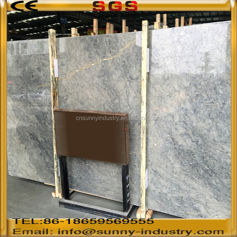 Blue marble slab blue grey marble stone Bluelover marble
