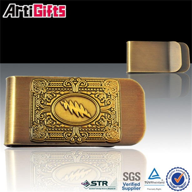 Glitter cheap make your own brand name money clip
