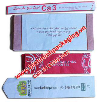 Bread Packaging Paper Bag, Kraft Food Paper Bag