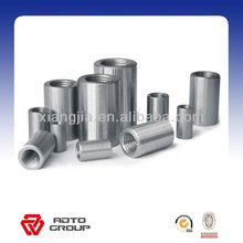 parallel steel threaded rebar couplers for construction