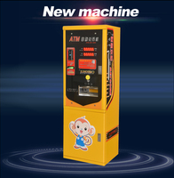 Double bill acceptor coin changer vending machine