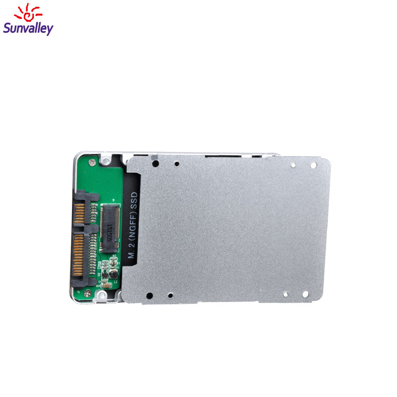 USB 3.0 to m.2 NGFF ssd external enclosure support ssd 1 tb hdd case