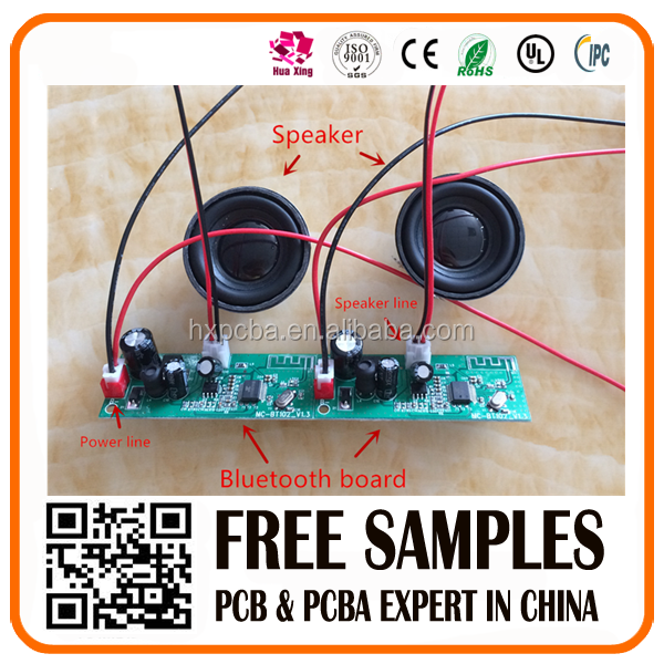 hot sale bluetooth speaker receiver PCBA circuit board