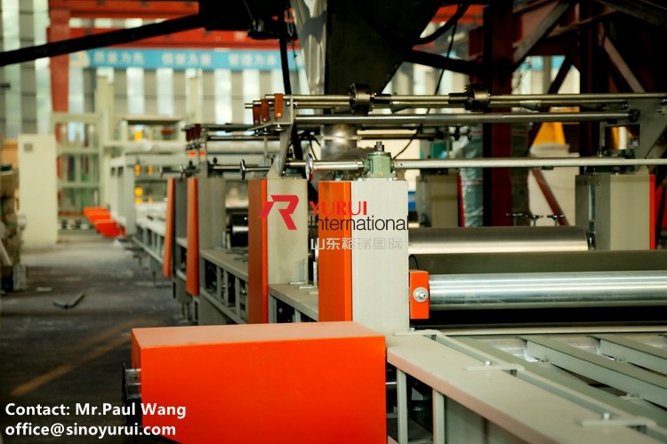 SENYD brand mgo fireproof material full automatic magnesium board production line