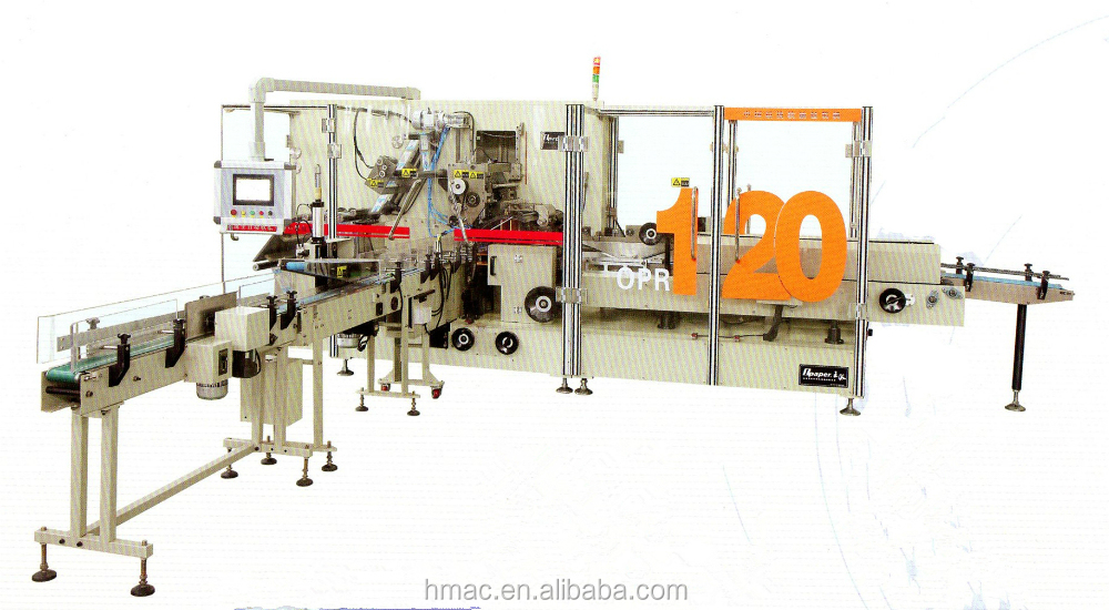 High Speed Automatic Soft Drawing Facial Tissue Packing Machine