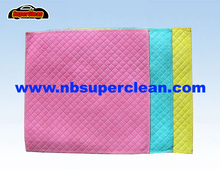 All purpose cleaner nonwoven cleaning cloth