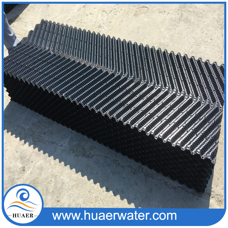 Counter flow cooling tower infill