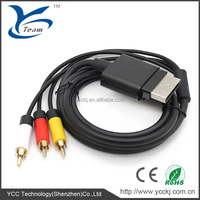 For Xbox 360 Slim HD AV COMPONENT CABLE 1080P AV Cable for XBOX 360