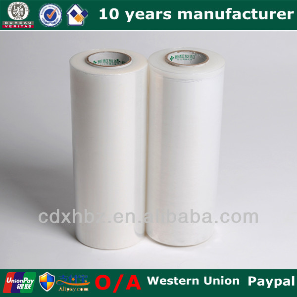 100% Virgin LLDPE Raw Material Blue PE Stretch Film