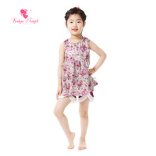 Wholesale boutique teen girl party wear two pieces girls set