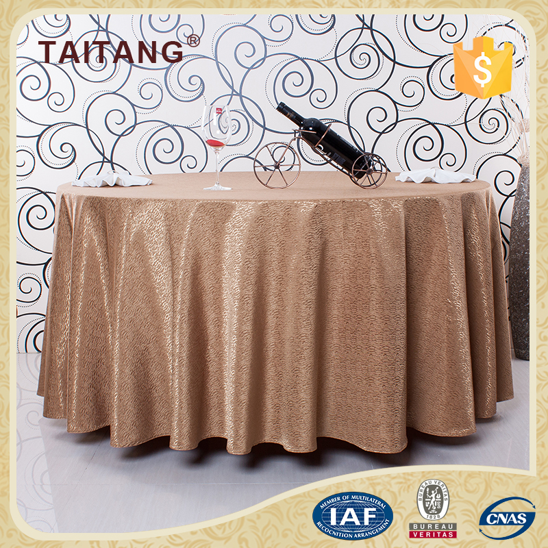 Ruffled with fringe heat resistant polyester stripe cloth table skirt buy cloth table skirt - Heat resistant table cloth ...