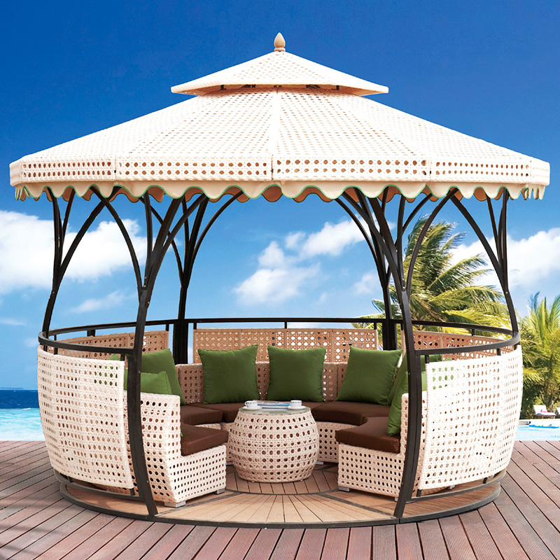 Outdoor leisure ways used patio furniture
