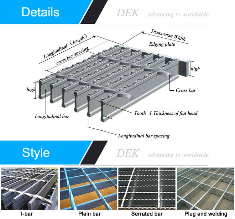 Concrete catwalk steel grating floor buy catwalk steel for Catwalk flooring