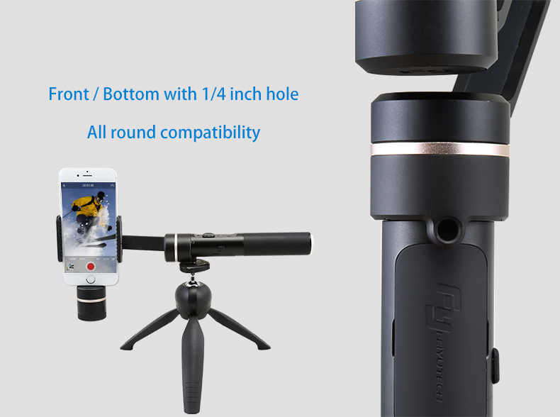 FeiyuTech SPG mobile gimbal with Foldable Design for Easy Storage for Black Friday