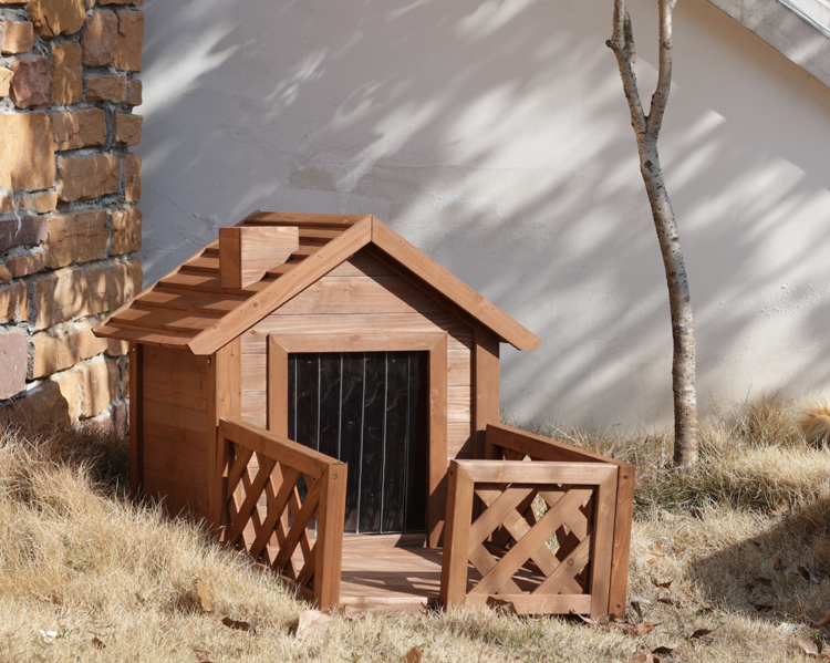 outdoor wooden pet house