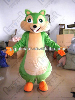 NO.4304 big tail loverly squirrel mascot costumes