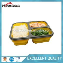 Brand new nice hot promotion gift food silicone container with low price