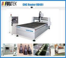 China factory supply high quality cnc router machine UD481,9kw Italy HSD spindle