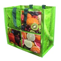 fruit and vegetable shopping carrier bag
