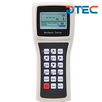 DTEC DH90 Digital Portable Leeb Hardness Tester,3 Years Guanratee,RS232 Cable for PC,Display Figure and Character,Best Price
