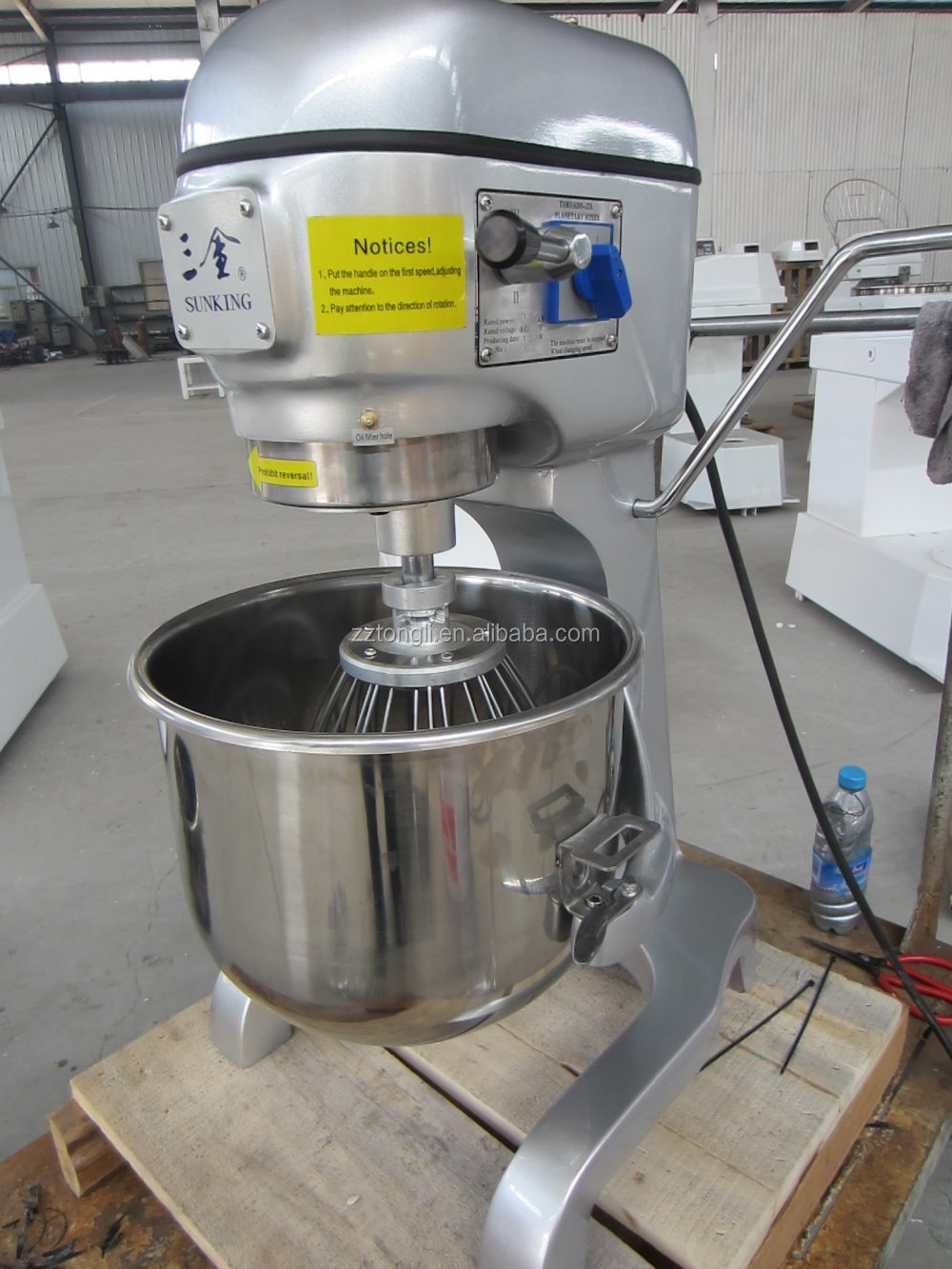 25L patent technology design planetary food mixer