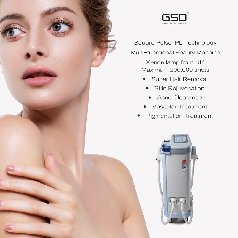 GSD cold laser machine laser hair removal machine
