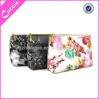 Factory Wholesale barrel shaped cosmetic bags cylinder makeup brush case