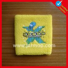 customized cheap cotton arm sweatbands