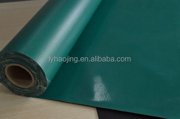 650gsm pvc coated tarpaulin fabric stocklot 0.55mm thickness for truck cover
