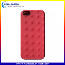 Phone accessories For iPhone 5C Durable Ultra thin Dot grid pattern tpu case/Colorful tpu phone case for iPhone 5C