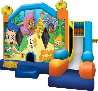 Bubble Guppies 7 Inflatable Combos