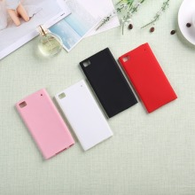 Hot smart cover case For Xiaomi 3 2 5 6 tpu black silicone case, black white pink red mobile phone accessories for xiaomi 3