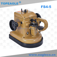 TOPEAGLE FS4-5 various animal furs automatic lubrication industrial sewing machine for shoe leather